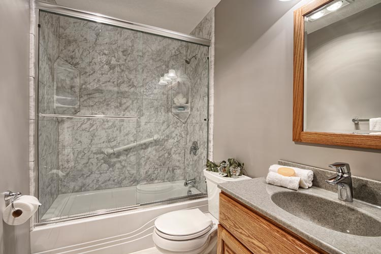 One day remodel one day affordable bathroom remodel for Bathroom improvements