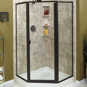 Your new shower is a great place to relax and unwind. In fact, bathrooms  are one of the most highly-trafficked rooms in your entire home.